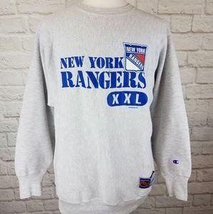Vintage 1994 NHL New York Rangers Sweatshirt.